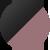 Спортивный топ Totalfit T1-P72, Чёрный, Коричневый, XS