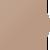 Спортивный топ Totalfit COMFORT T2-C39, Кофейный, XS