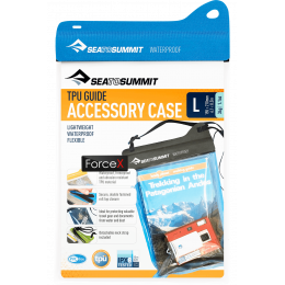 Водонепроницаемый чехол для документов Sea To Summit TPU Accessory Case Blue, 21x15.5 см