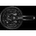 Шатуны Shimano FC-TY501 24/34/42T 175мм под квадрат черные