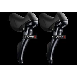 Моноблок Shimano ST-R3000 SORA STI комплект 2x9 скоростей