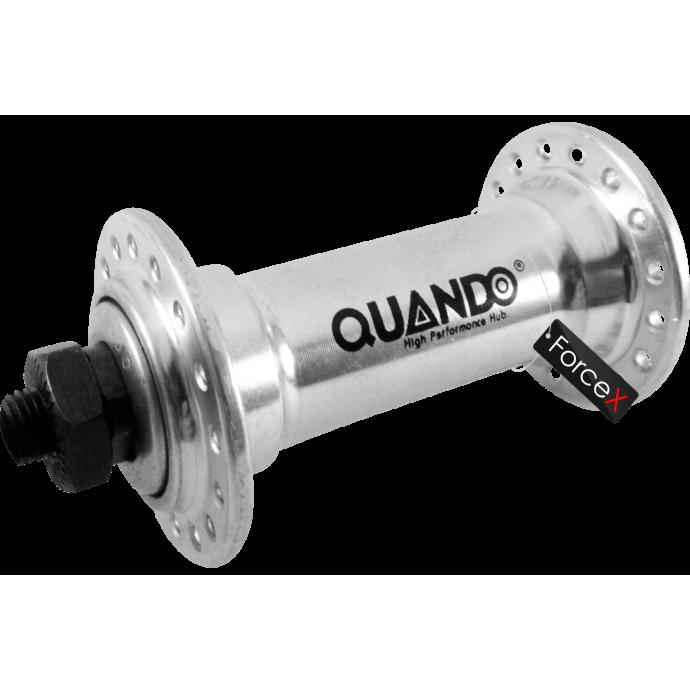 Втулка передняя QUANDO KT-A15F 32H V-brake, Silver