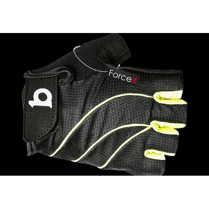 Велосипедные перчатки B10 NC-3117-2018 black/neon, M