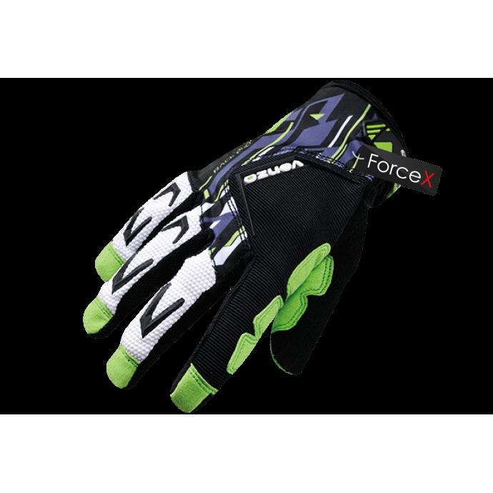 Велосипедные перчатки Venzo VZ-F29-006 green, L