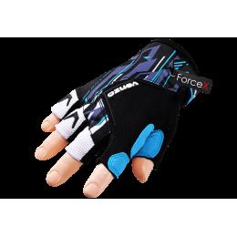 Велосипедные перчатки Venzo VZ-F29-007 blue, M