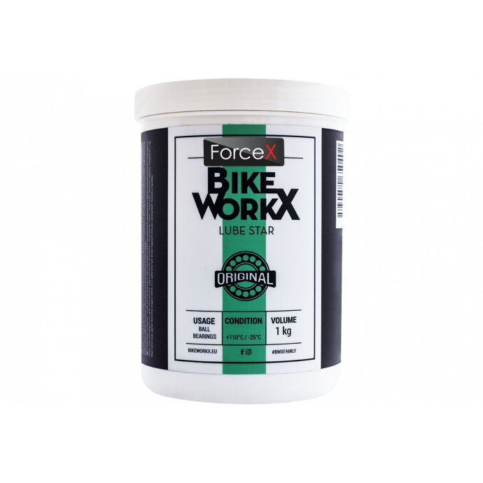 Смазка для подшипников BikeWorkx Lube Star Original банка 1kg