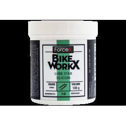 Густая смазка BikeWorkX Lube Star Silicon банка 100 г.