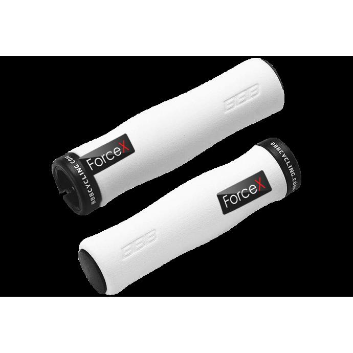 "Грипсы BBB ""LightFix"" (BHG-19) 130 мм, белые"