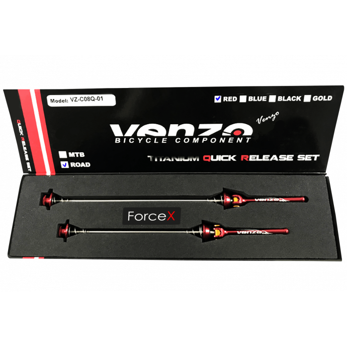 Эксцентрик VENZO комплект 115мм+151мм красный