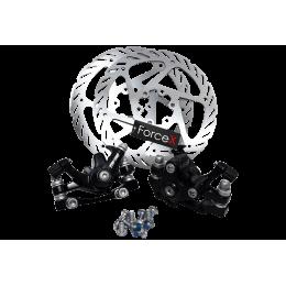 Дисковые механические тормоза YINXING DB-01, ротор 160мм (комплект)