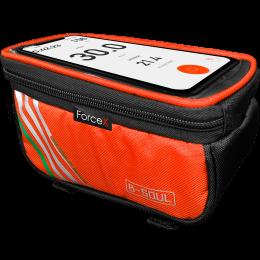 Сумка на раму B-Soul (GA-41) Orange под инструменты и телефон 6.5″
