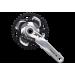 Шатуны Shimano FC-M782 DEORE XT, Hollowtech II, 175мм, 40/30/22, компоненты каретки BSA