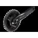Шатуны Shimano FC-M6000-2 DEORE, Hollowtech II, 175мм, 36/26, интегрированная ось