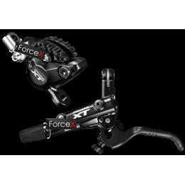 Дисковый гидравлический тормоз Shimano M8000 DEORE XT (передний), гидролиния 1000мм