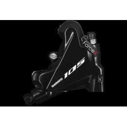 Калипер гидравлический для дискового тормоза Shimano BR-R7070-R, 105, FLAT MOUNT задний адаптер 140/160мм