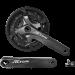Шатуны SQ Shimano FC-M2000 ALTUS 22/30/40Т 9-ск 165 мм под квадрат серые