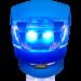Габарит передний BC-RL8001, силиконовый, синий - 3 режима