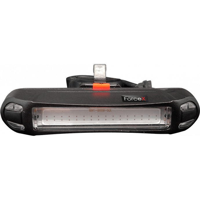 Задний фонарь LED West Biking BC-TL5452 (скругленный), USB