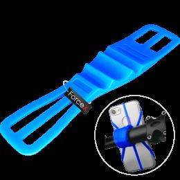 Силиконовый держатель телефона на руль Sport Base SK-02 Blue