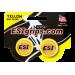 Заглушки руля ESI Bar Plug Yellow, жёлтые