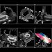 Крепление для телефона на руль GUB Z-072 Black