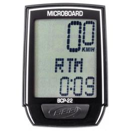 """Велокомпьютер BBB BCP-22 13F """"MicroBoard"""", проводной с подсветкой, чёрный"""