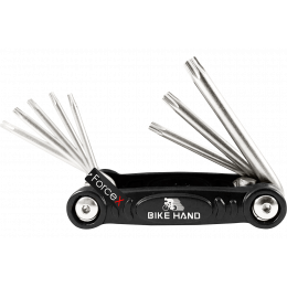Мультитул Bike Hand Torx (VZ-F33-078) 8 в 1, Чёрный