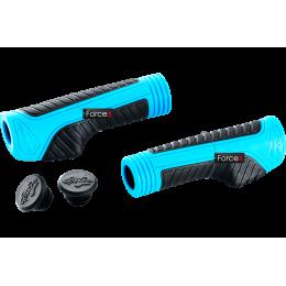 Грипсы VENZO VZ-E05-014 130 мм, резина, синие