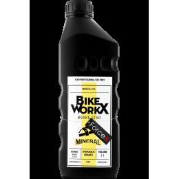 Тормозная жидкость BikeWorkX Brake Star Mineral (минеральное масло) 1 литр