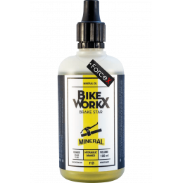 Тормозная жидкость BikeWorkX Brake Star Mineral (минеральное масло) 100 мл.