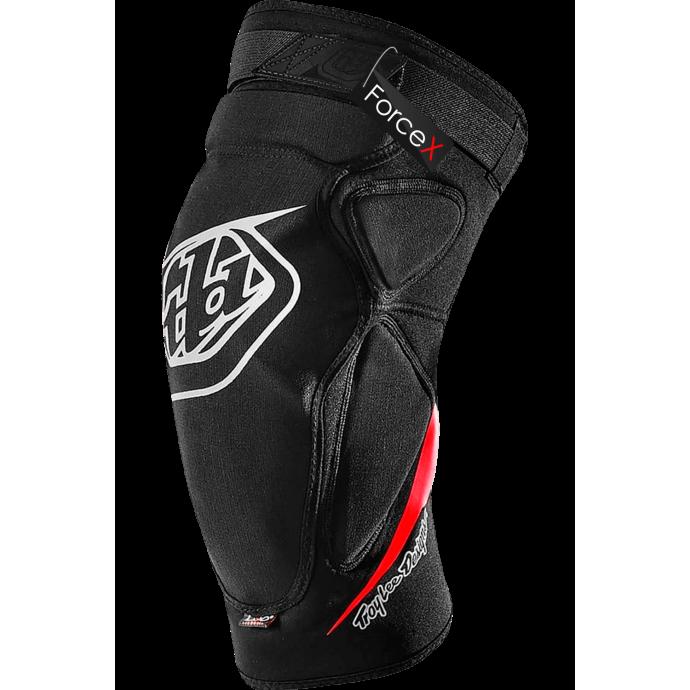 Наколенники велосипедные TLD Raid Knee Guard [Black] размер XS/SM