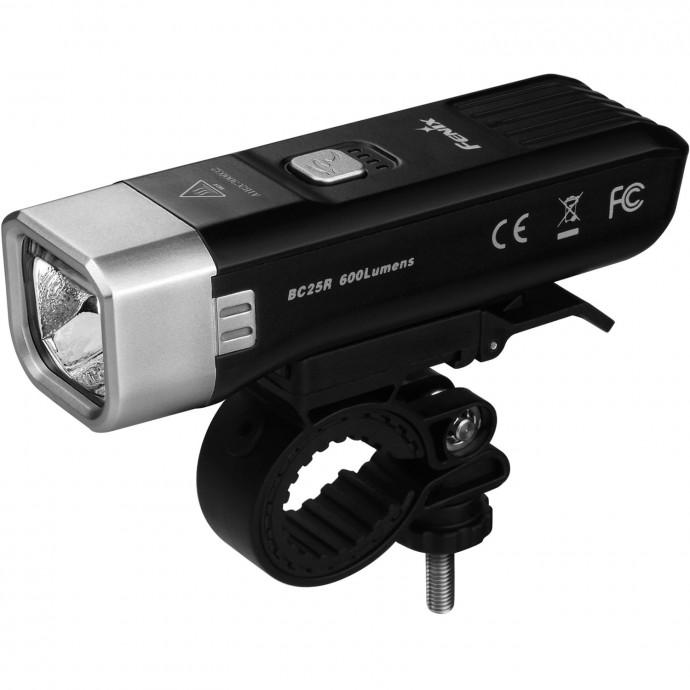 Передний фонарь Fenix BC25R, Black