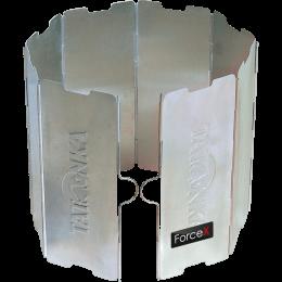 Ветрозащита для горелки Tatonka Faltwindschutz 8tlg, Silver