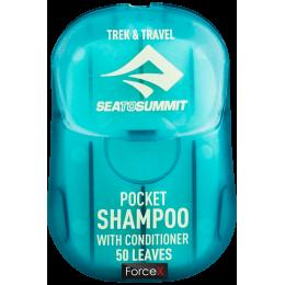 Шампунь Sea To Summit Trek & Travel Pocket Conditioning Shampoo 50 Leaf Blue