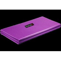Коврик для фитнеса Polifoam складывающийся (150x58x0.7см) фиолетовый