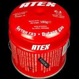 Газовый картридж ATEX 190 грамм/360 мл, прокалываемый
