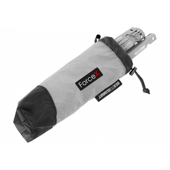 Чехол для колышков Sea To Summit - Peg and Utensil Bag Black/Grey