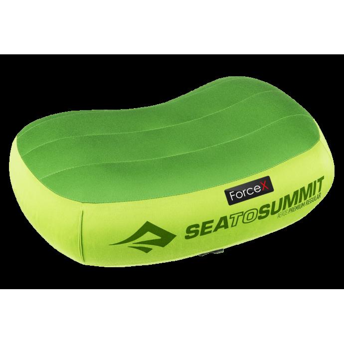 Подушка надувная Sea To Summit - Aeros Premium Pillow Regular Lime (13x42x30 см)