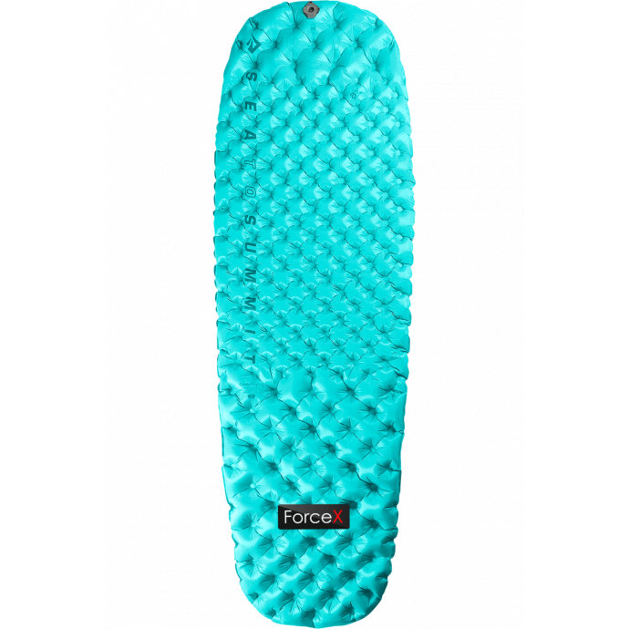 Надувной женский коврик Sea To Summit - Air Sprung Comfort Light Insulated Mat Women's Light Blue, 168x55x6.3 см