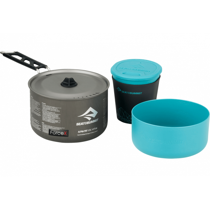 Набор посуды Sea To Summit - Alpha Cookset 1.1 Pacific Blue/Grey