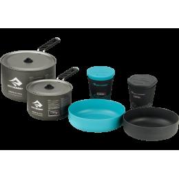Набор посуды Sea To Summit - Alpha Cookset 2.2 Pacific Blue/Grey