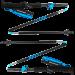 Палки для бега и треккинга Black Diamond Distance Carbon FLZ, 95-110 см