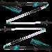 Палки для бега и треккинга Black Diamond W Distance FLZ, 95-110 см