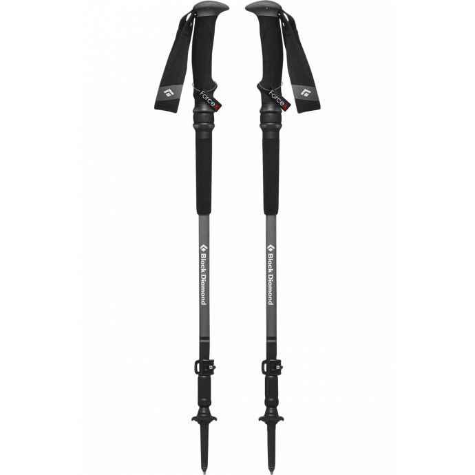 Палки треккинговые Black Diamond Trail Pro Shock, 105-140 см