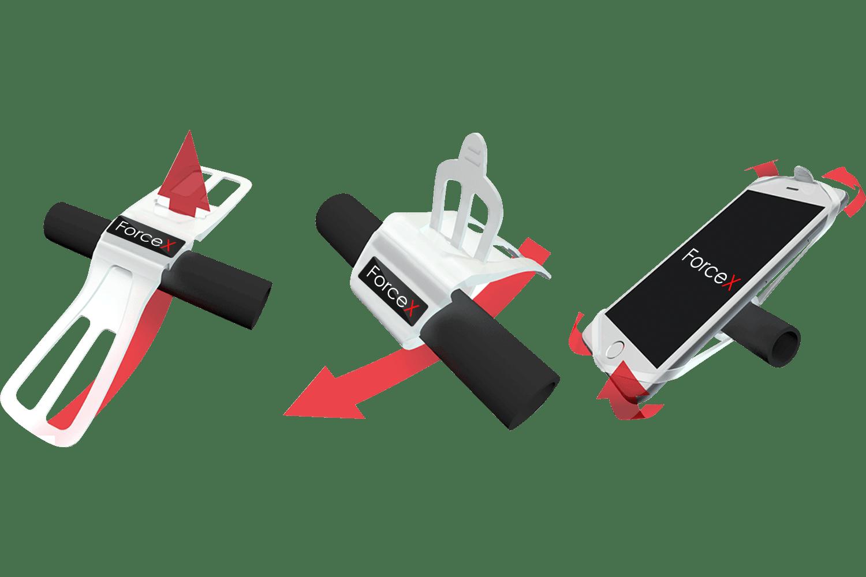 Установка силиконового держателя телефона Sport Base SK-02 на руль