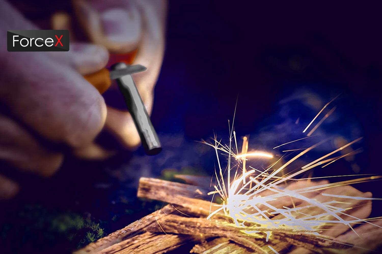 Light My Fire FireSteel BIO Scout 2in1, Rocky/Red Promo