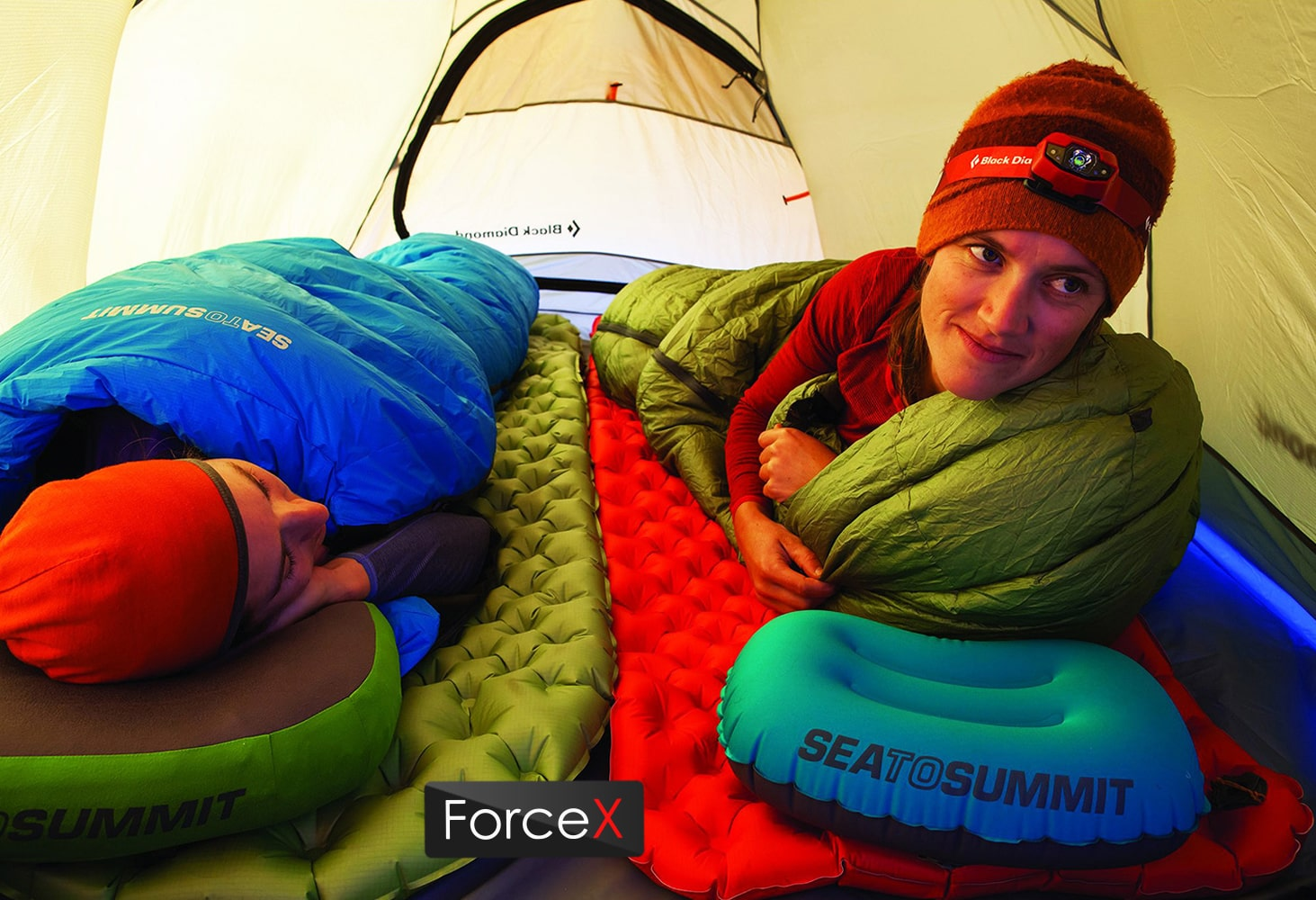 Sea To Summit - Air Sprung Comfort Light Insulated Mat Green Instruction
