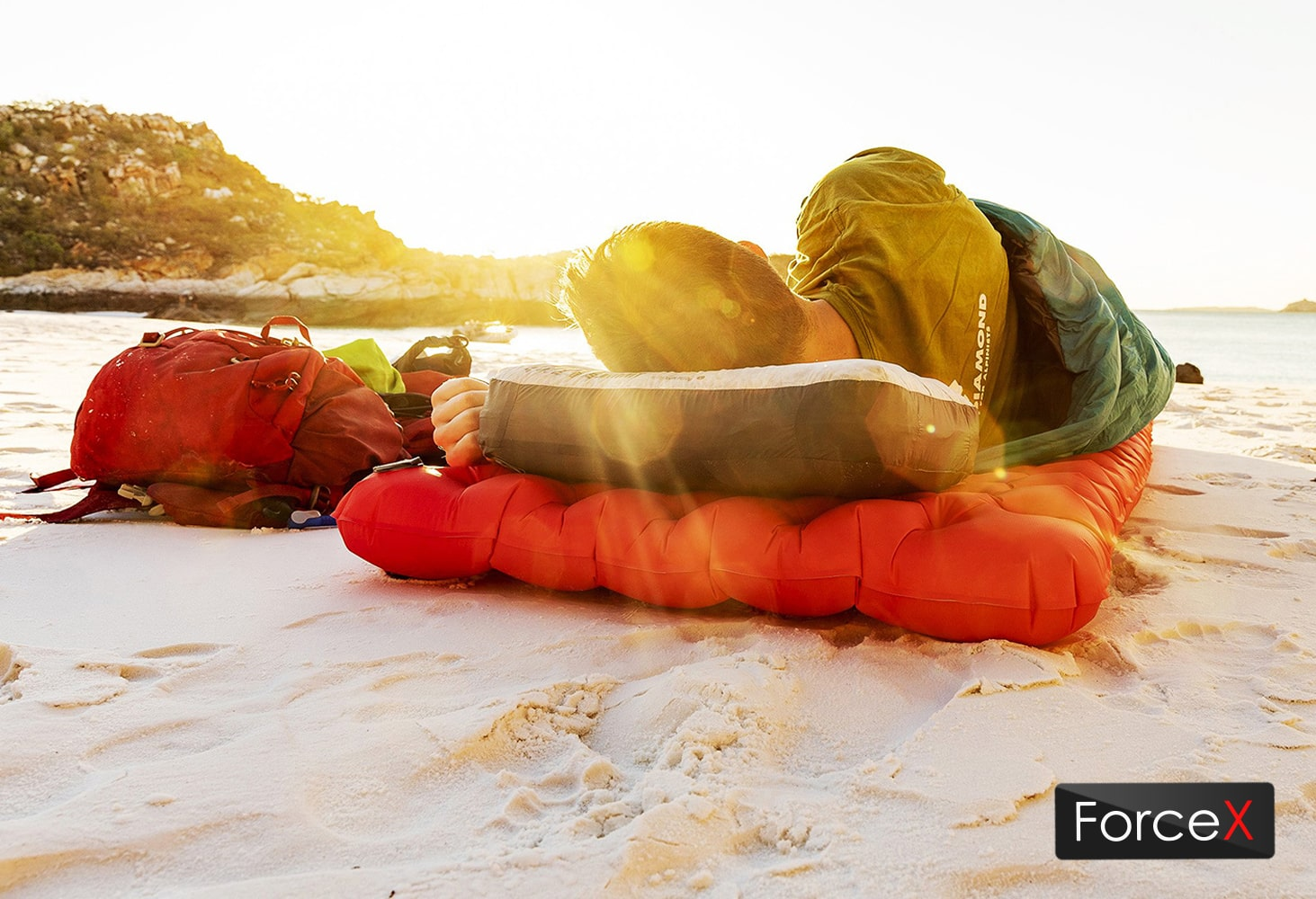 Sea To Summit - Air Sprung Comfort Plus XT Insulated Mat Rectangular Red Present