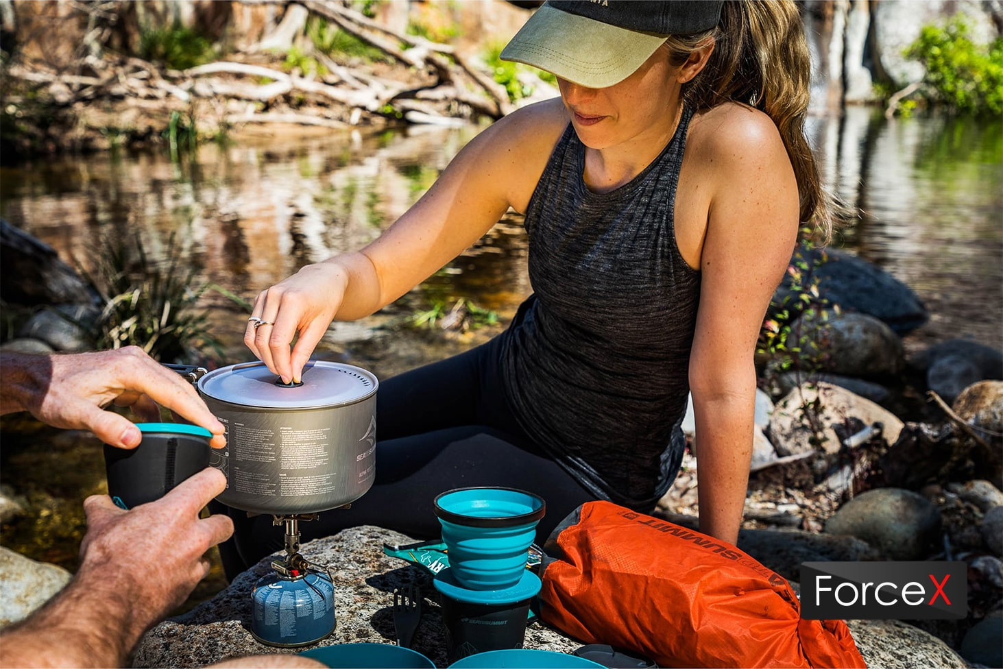 Sea To Summit - Alpha Cookset 2.2 Pacific Blue/Grey