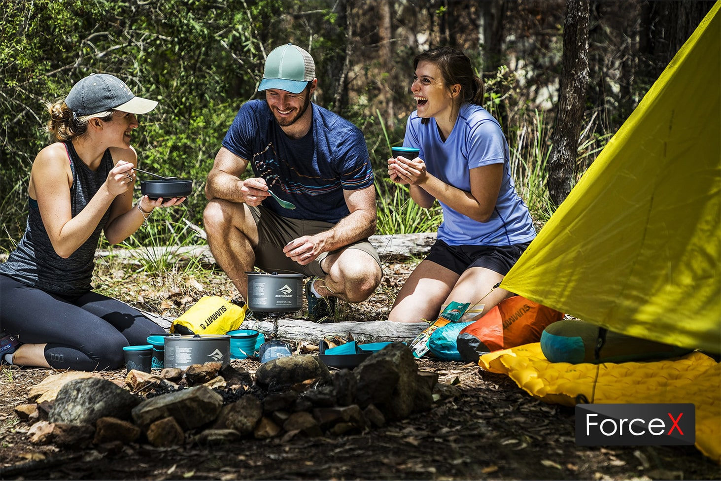 Sea To Summit - Alpha Cookset 4.2 Pacific Blue/Grey